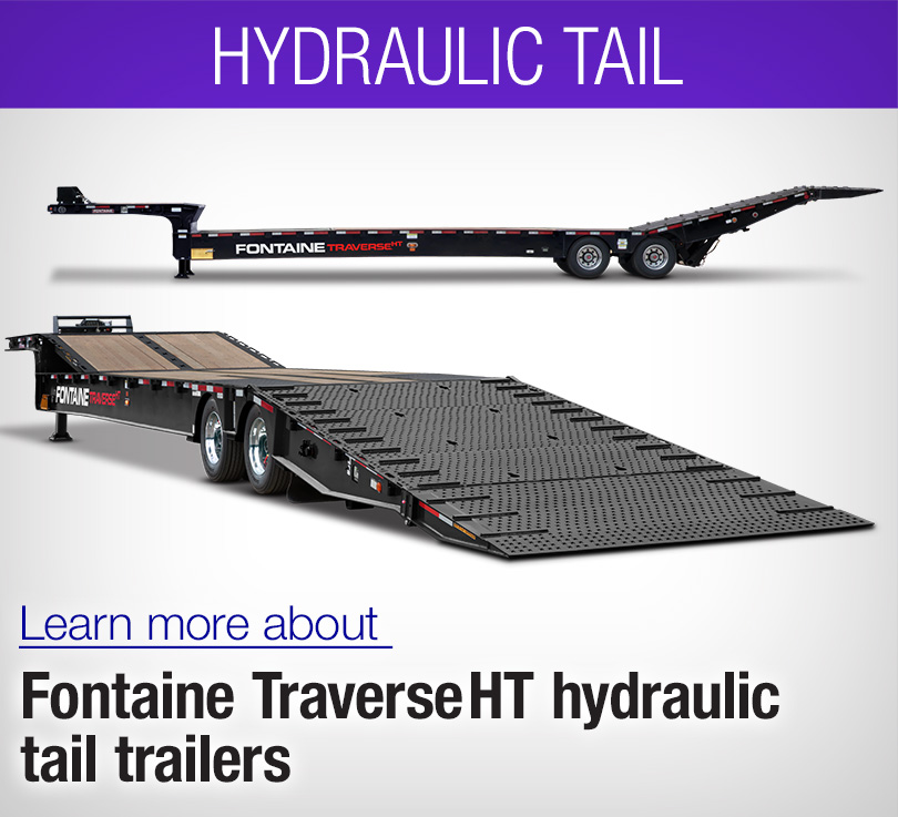 hydrualic tail traverse ht trailer