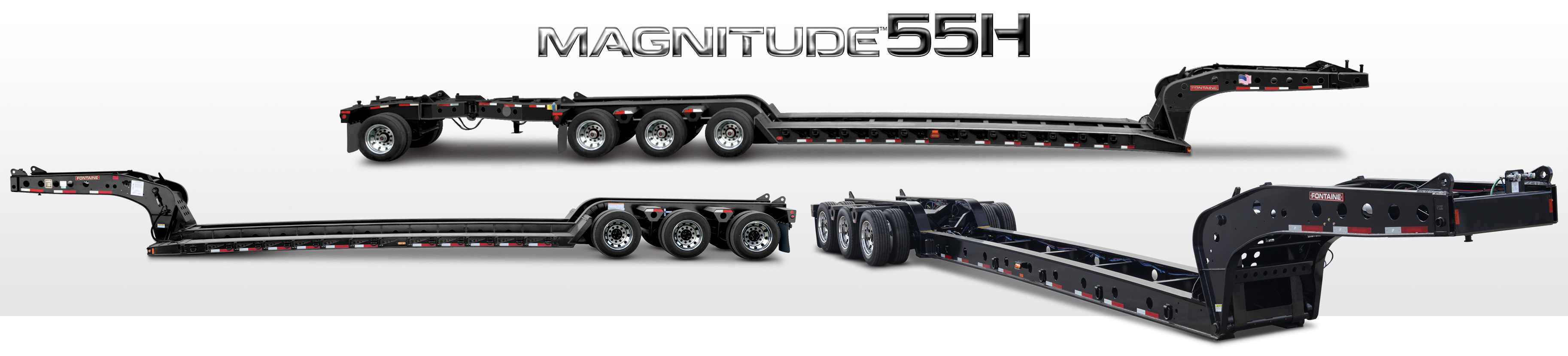 Magnitude 55H lowbed trailers
