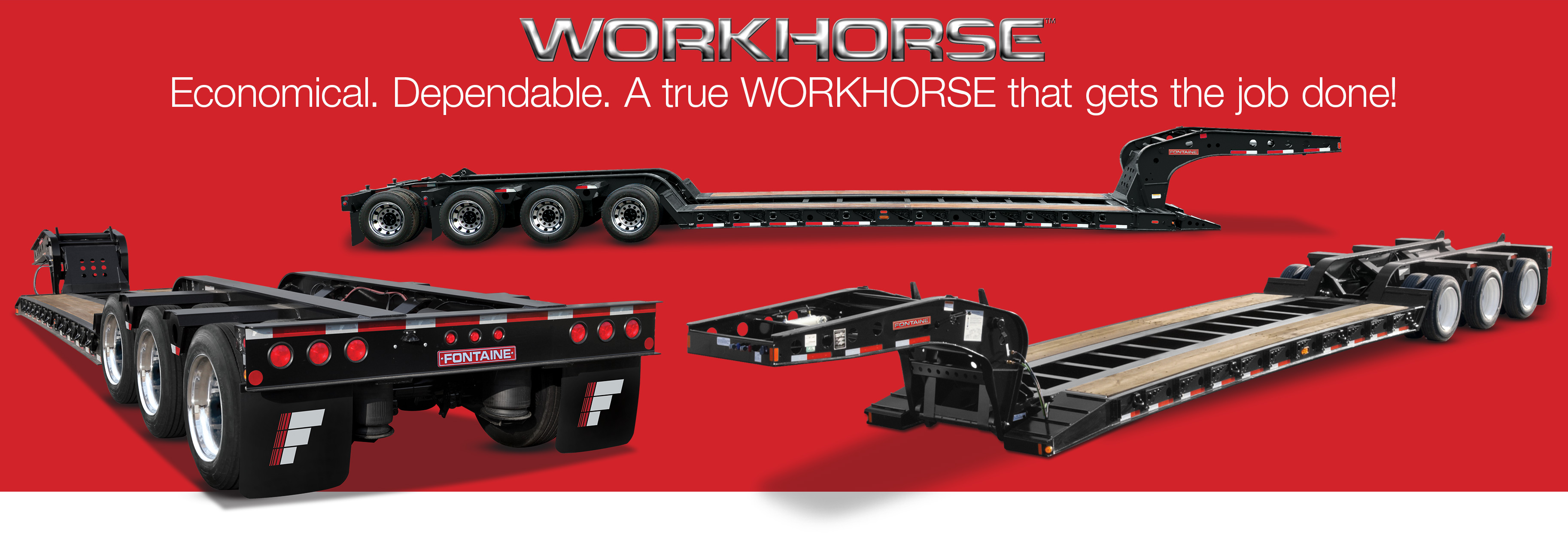 Fontaine Heavy Haul Workhorse Trailers